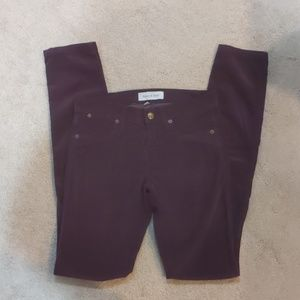 Wine Colored Henry&Belle Jeans